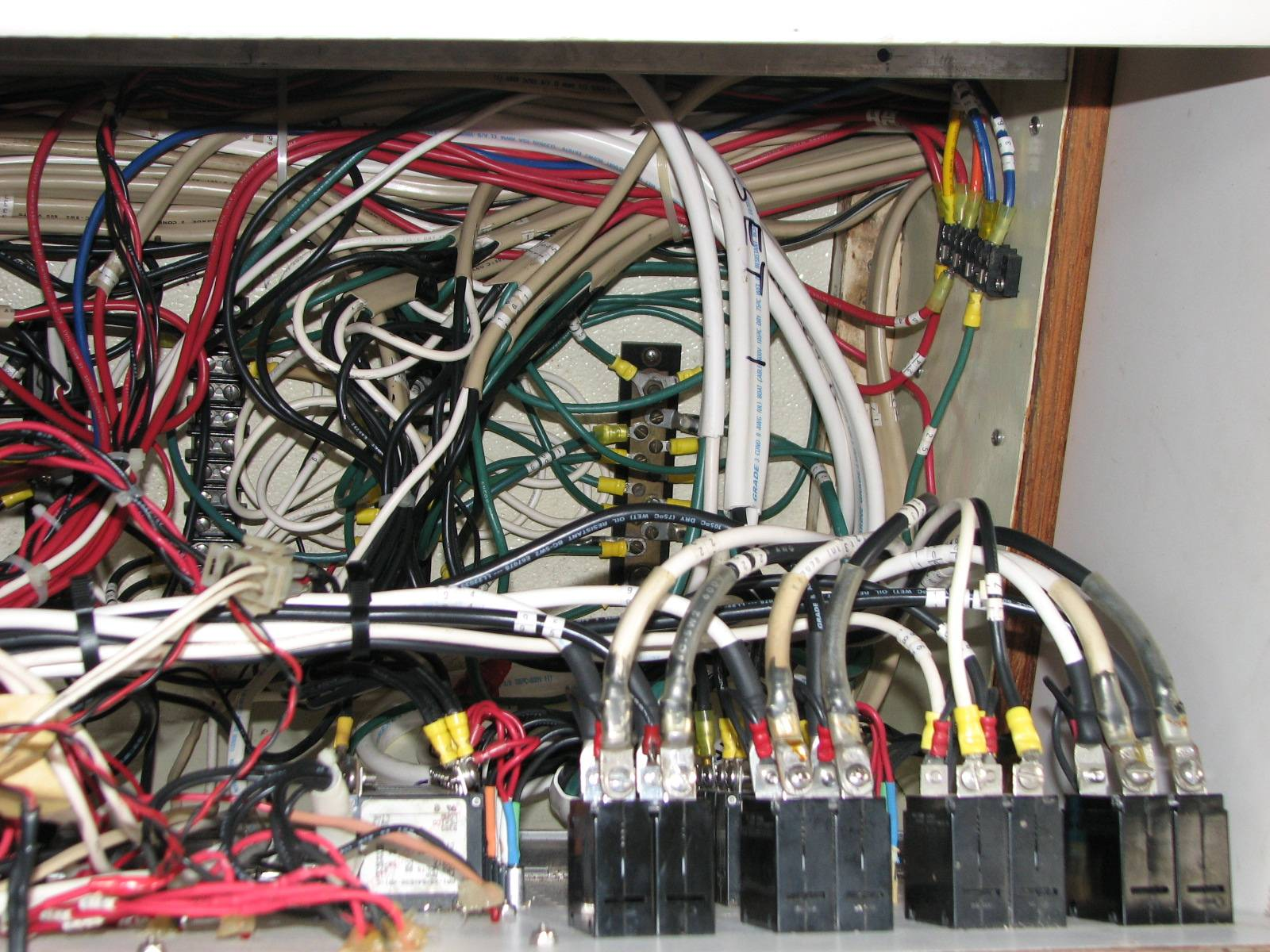 Ac Breaker Panel Wiring Electrical Diagrams A Box For 110 Systems To